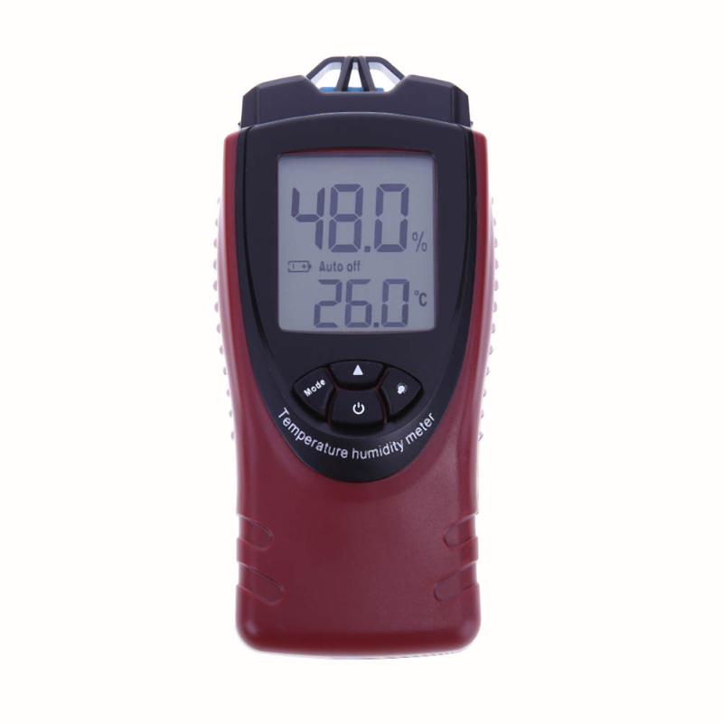 Nicety Industrial Thermometer Hygrometer Tester Digital LCD Temperature Humidity Meter Data Hold With Backlit<br>