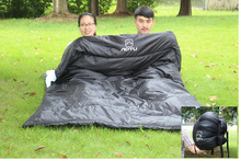 Lover Double Sleeping Bag 2 people Thickening Envelope Type for Outdoor Survival Camping