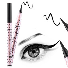 Waterproof Black Eyeliner Liquid Eye Liner Pencil Pen Makeup High Quality Comestics Drop Shipping Cosmetic 3 Style Choose(China)