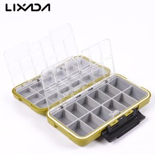 Waterproof Fishing Tackle Boxes Fishing Lure Bait Hook Storage Case Tackle Box with 30 Small Compartments Fishing Accessories