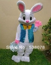 GOOD QUALITY EASTER BUNNY MASCOT COSTUME Easter Bugs Rabbit Adult Cartoon Outfit suit SW27