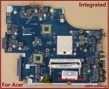Free shipping ! Laptop Motherboard FOR ACER 5551G 5552 5552G 5551 NEW75 LA-5912P motherboard