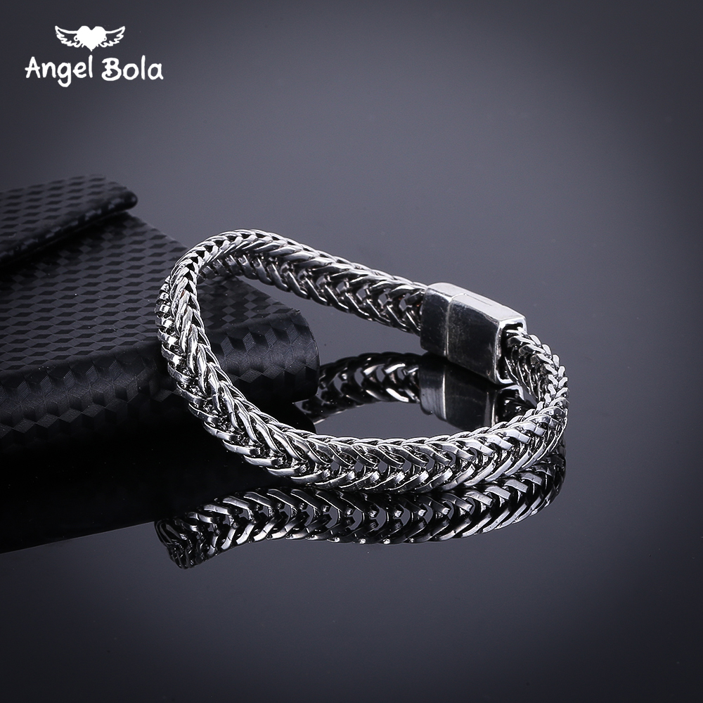 Fashion Tire Pattern Men's Buddha Chain Link Finger Ring Ancient Silver Jewelry To Women Gift Free Shipping