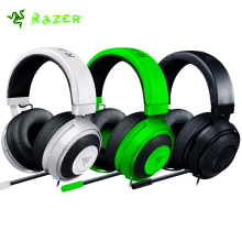Razer Kraken Pro V2 Earphone Game Headphone with Microphone PC/Mac/PS4/Xbox/Mobile Devices with 3.5mm Audio Jack