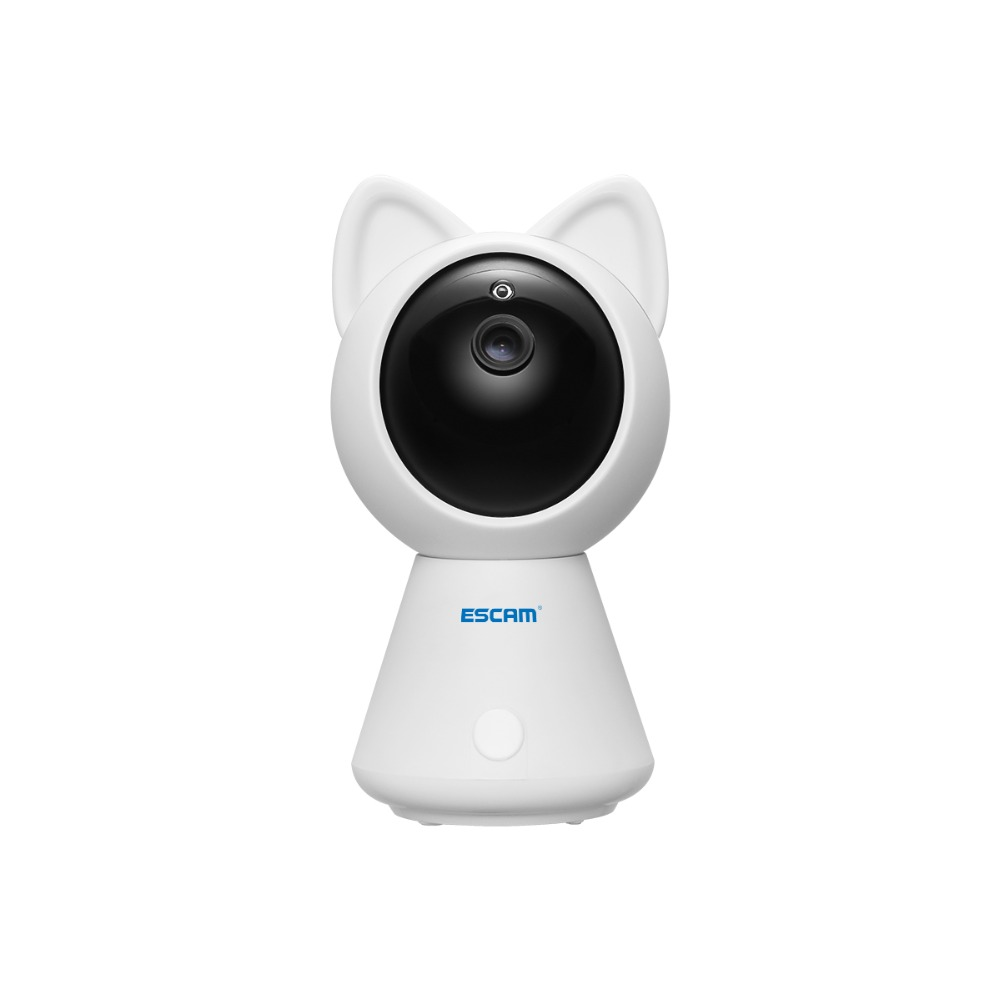 Escam QF509 HD 1080P Wireless Pan/Tilt Monitor Wifi IP IR Camera ONVIF Indoor Mini Network Camera Support Motion Detector<br>