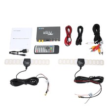 digital tv receiver for car with DVB T2 Tuner Box Support MPEG-1, MPEG-2, MPEG-4, H.264 decoder for RUSSIAN,AUSTRALIA ETC(China)
