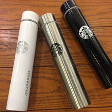 Starbucks slim goddess vacuum cup stainless steel long cup coffee cup Coffee term