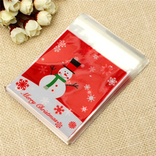1pcs Creative Snowman Styles Gift Bag Christmas New Year Dcorations(China)