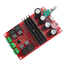 Audio Amplifier Board 2x100W TPA3116D2 dual channel 2 (left and right) Channel Digital Audio Amplifier Board 12/24V for Arduino(China)