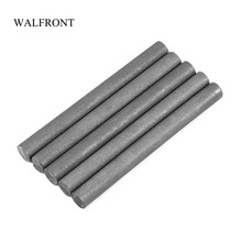 WALFRONT 5Pcs/Lot 99.9% Graphite Rods Welding Electrode Cylinder Rod Bars Carbon Rod Machine Tools for Light Industry Metallurgy(China)