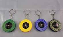 Whole Sale 300pcs/lot Qibla Compass Key Chain & Booklet - Kaaba Kibla Direction Prayer Muslim Islam