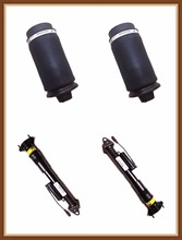 Rear Air Suspension 2pcs Shock Absorber with ADS and 2pcs air spring bags for Mercedes benz GL Class X164 / Ml Class W164