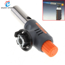 Automatic Portable High and Low Welding Gas Torch Flame Gun Electronic Ignition Lighter for BBQ and Baking
