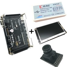 Xilinx FPGA video processing kit XC6SLX9 development board + Platform USB Download Cable+4.3 inch TFT LCD+OV5640 Camera XL017