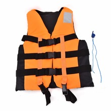Adult Life Vest Jacket Universal Swimming Boating Ski Drifting Foam Vest with Whistle Prevention S-XXL Sizes(China)