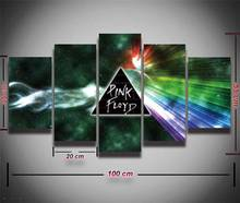 5 Panels Printed Pink Floyd Rock Music Canvas Painting For Wall Art Bedroom Home Decoration Canvas Prints Poster Fashion Artwork