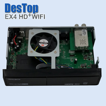 New BCM7362 processor Satellite tv receiver,EX4 HD wifi ,support DVB-S2,DVB-C + DVB T2,work same as Zgemma H2H and X mini solo3