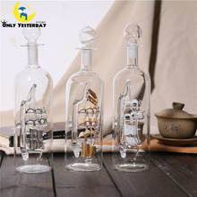 2018 New Year Present Ship in Glass Bottle Put In Office Desktop Vintage Home Craft Decoration Accessories escritorio BLPLP-FC(China)