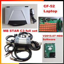 Super quality MB STAR C3 + CF52 diagnostic second-hand computer  for Panasonic Toughbook CF-52 2G laptop + software in HDD
