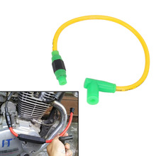 Universal Motorcycle Motorbike Rubber Spark Plug Wire Cable For 50cc 90cc 110cc 125cc 150cc 200cc 250cc #MDB019-1
