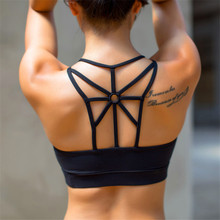 Women sports bra running top gym GYM Yoga shirt running fitness exercise underwear training dancing Shockproof bra