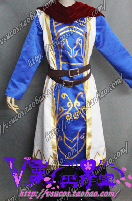 Tryndamere Cosplay Costume Custom Any Size