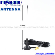 400-470mhz uhf omnidirectional ham two way radio antenna, walkie talkie antenna extension,sma female connector(China)