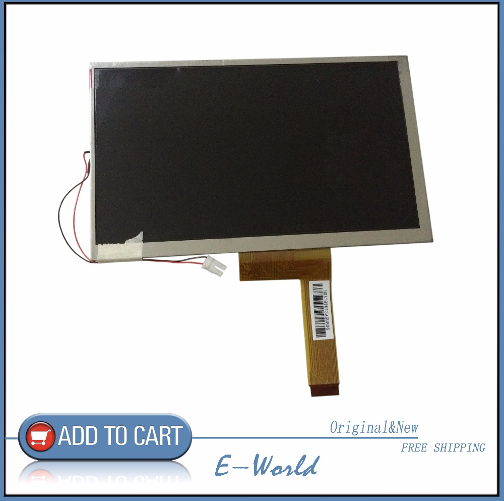 Original 7inch 26pin LCD screen 7610009236 E242868 free shipping<br>