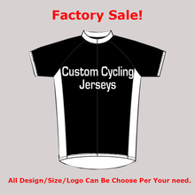 Customized Men Women Team Cycling Jersey Clothing Bicycle Short Sleeve Summer Jerseys Bike Club Bicycle Wear with DIY Pattern