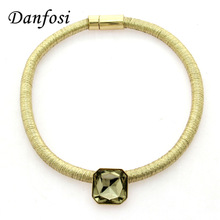 Buy Danfosi 4 Color Choise Chunky Chain Crystal Chokers Necklaces Women New Boho Collar Kim Kardashian Statement Necklaces Maxi for $3.99 in AliExpress store