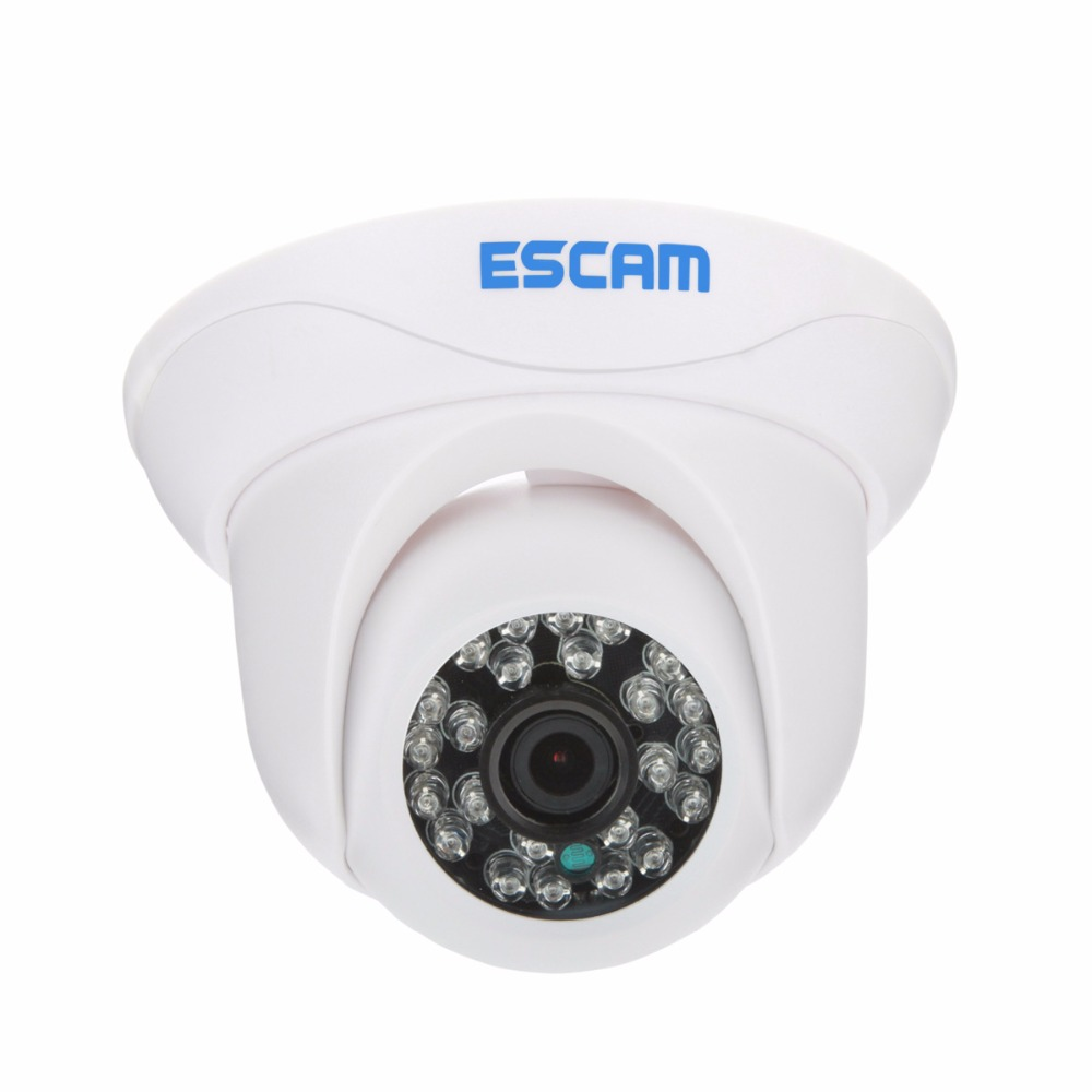 ESCAM Snail QD500 Mini IP Camera Night Vision Waterproof outdoor HD 720P IR Cut Onvif P2P CCTV Security Camera Mobile Detection<br>