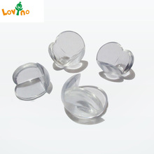 10pcs/lot Child Baby Safety Silicone Protector Table Corner Edge Protection Cover Children Anticollision Edge & Corner Guards(China)