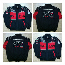 F1 Racing Embroidery Cotton Jacket Suit Nascar Moto Car Team(China)
