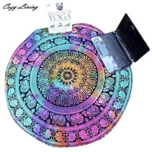 Table Cloth Round 1 PC Beach Pool Home Shower Towel Blanket Table Cloth Yoga Mat 150CM Printing Tablecloth Wholesale JA4
