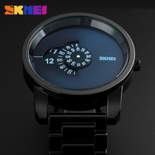Fashion Casual Watches Men Luxury Brand Bussiness Quartz-watches Stainless Steel Watch Dress Military Wristwatch SKMEI 1171(China)