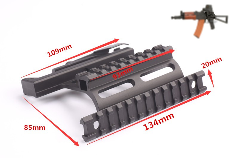 Tactical Picatinny Weaver AK Double Side Mount Quick QD Trilho 20mm Detach Scope Sight Mounts Rifle Profile Pistol Gun<br><br>Aliexpress