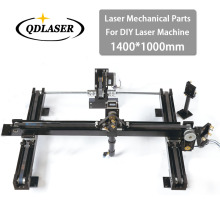 DIY Co2 Laser Engraving Cutter Parts Set 1400*1000mm Size Mechanical Laser Spare Parts Kit(China)