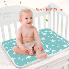 All Seasons Cotton printing Waterproof 60 * 75cm Infant Bedding Portable newborn changing mat Baby Care Changing Pads & Covers