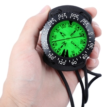 EZDIVE Diving Scuba Wrist Compass Deep Sea Exploring Supplies Pointing Guide Under Water Compass For Diving(China)