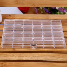 Free Shipping Ps High TransParent Nail Cosmetics 24  Sell Like Hot Cakes Jewelry Show Plastic Box Boxes Makeup Organizer