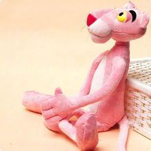 New Lovely Naughty Pink Panther Stuffed Toy Plush Doll Child Plaything Gift kids Xmas Toys(China)