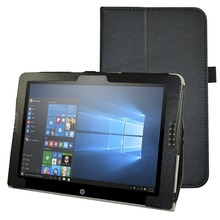 "Folio Stand New Custer PU Leather Smart  Cover Case For 12""HP Pavilion x2 12-b000 Tablet"