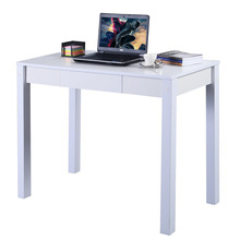 Study Desk Computer Table Drawer Modern Decor Furniture Home Office HW51325WH(China)