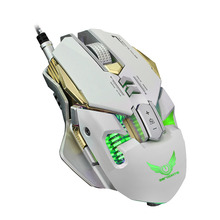 Professional Mechanical Wired Gaming Mouse 7 Button X300 Optical LED USB for PC Laptop