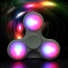 Buy Finger Spinner LED Light Hand Plastic EDC Autism Spinner ADHD Relief Focus Anxiety Stress Gift Toys Anti Stress for $2.81 in AliExpress store