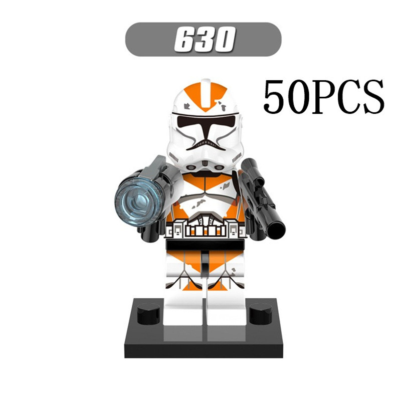 Lepin Star Wars Pogo XINH Wholesales XH630 Utapau clone trooper 50PCS Building Blocks Bricks Toys Action Figures compatible lego<br>
