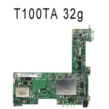 For Asus Transformer Book T100TA Mainboard Quad Core Z3740 Processor PC Tablet Motherboard 32GB Atom 1.33Ghz CPU 60NB0450-MB1070