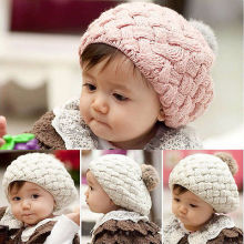 Toddler Kids Girls Boys Baby Infant Winter Warm Crochet Knit Hat Beanie Cap hot