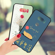 YaXiangGe phone case For LG G3 D855 G4 G5 G6 Q6 Case 360 Full Matte Cover For LG V10 H968 V20 H990N V30 Q6A Q8 Case(China)