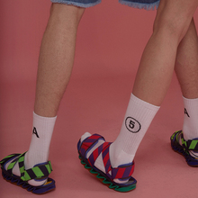 South Korea ulzzang harbor Harajuku simple ADER ERROR tube socks cotton tide male and female couple